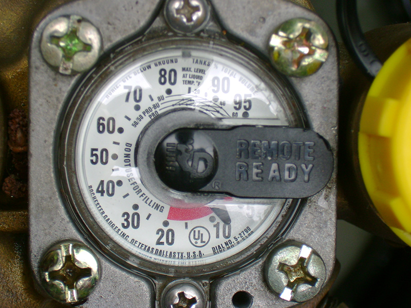How much gas is in my tank? | Ressler Propane | Lancaster